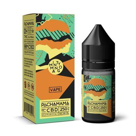 Pachamama CBD Minty Mango Vape Liquid 250mg