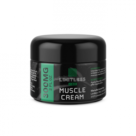 Limitless CBD Muscle Cream 300mg