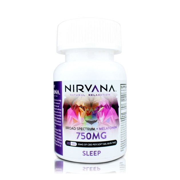 Nirvana CBD Capsules Melatonin