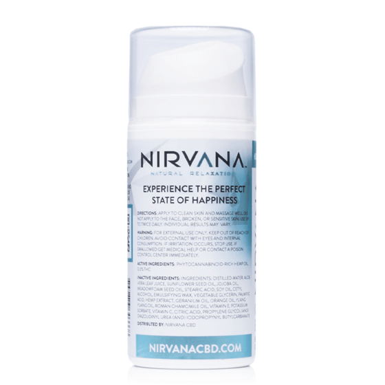 Nirvana Broad Spectrum CBD Body Lotion