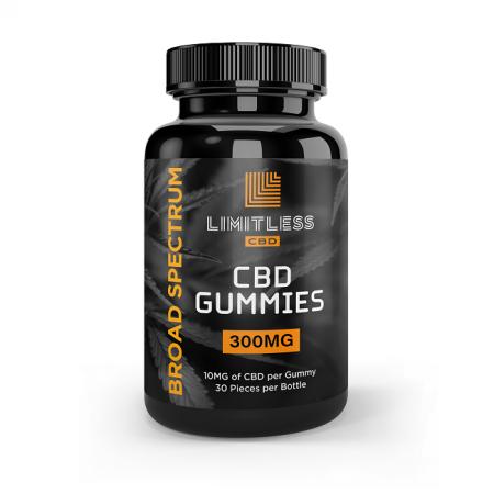 Limitless CBD Infused Gummies 300mg