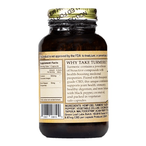 The Brothers Apothecary Immunity Support CBD Capsules