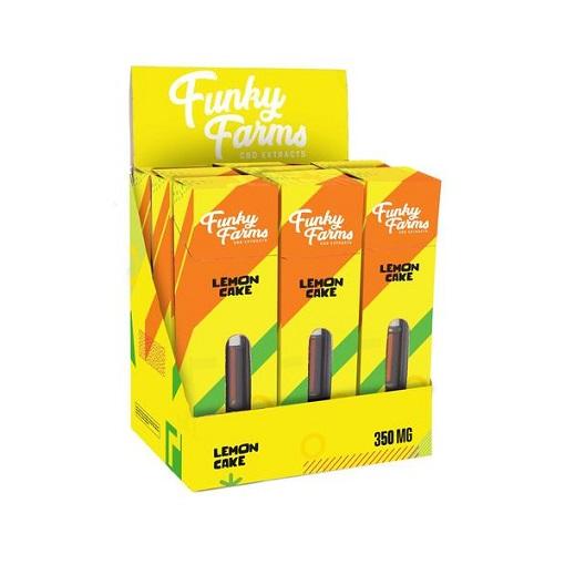 Funky Farms Lemon Cake CBD Vape Cartridge 350MG