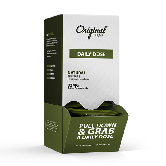 Original Hemp Daily Dose 33MG CBD Tincture