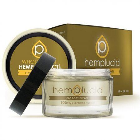 Hemplucid Full Spectrum CBD Body Cream 500mg