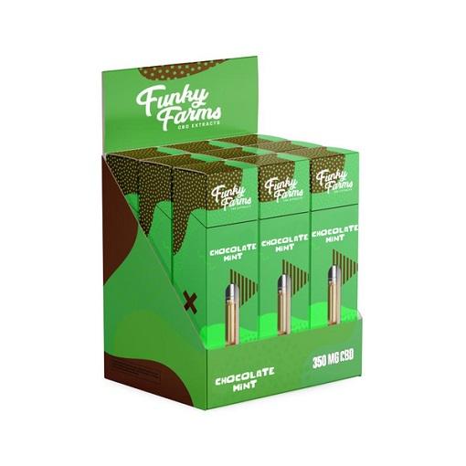 Funky Farms Chocolate Mint CBD Vape Cartridge 350MG 1mL