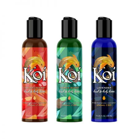 Koi Hemp Extract CBD Lotion 200mg