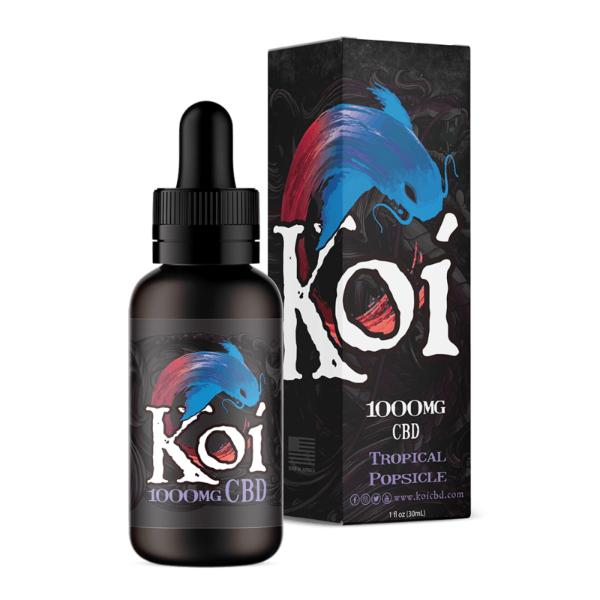 Koi Tropical Popsicle Hemp Extract CBD Vape Liquid 1000mg