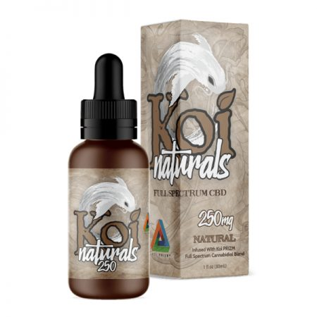 Koi Naturals Natural Full Spectrum Hemp Extract CBD Oil Tincture 250mg