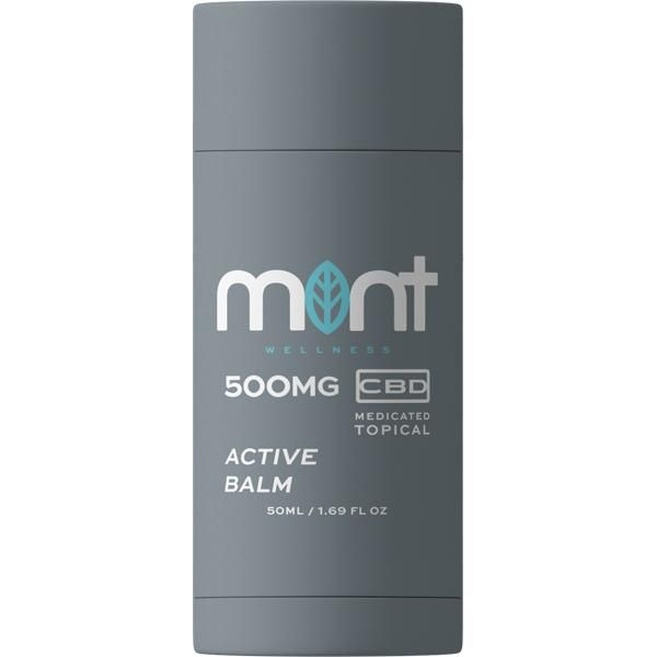 Mint wellness CBD Balm 500mg