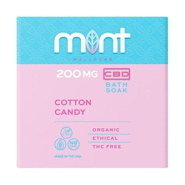 Mint wellness CBD Bath Soak Cotton Candy 200mg