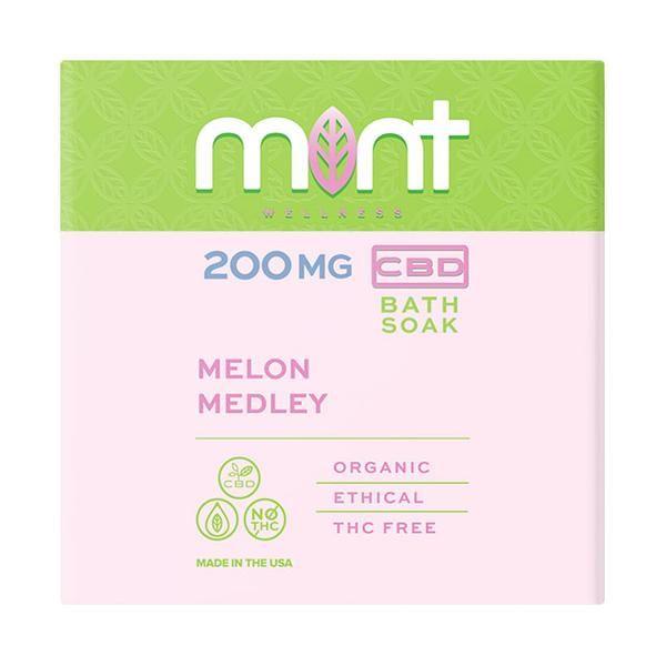 Mint wellness CBD Bath Soak 200mg