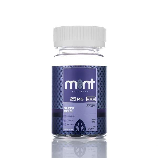 Mint wellness wellness CBD sleep gels Capsules