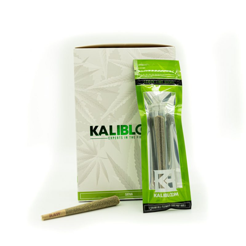 Kalibloom 1 Gram CBD Pre-Roll Lemon Lime Diesel